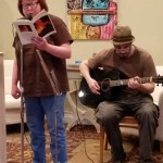 Diane and jazz open mic May