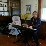 Al Smith at Baby shower